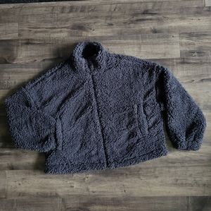 NWT Urban Outfitters Fuzzy Teddy Jacket